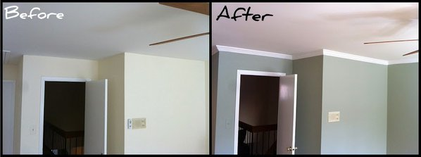 Crown Molding Installation For Melrose Ma Painting